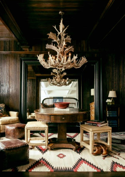 Antler Chandelier Setting