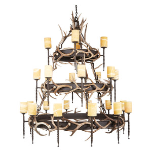 3 Tier Lodge with Antler & Onyx - Antlerworx