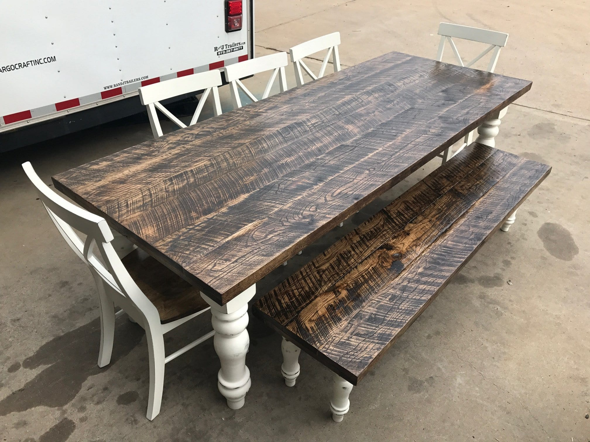 The Dixon Farm Table - Antlerworx