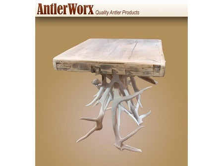 Bleach Antler End Table (ET-11SB) - Antlerworx