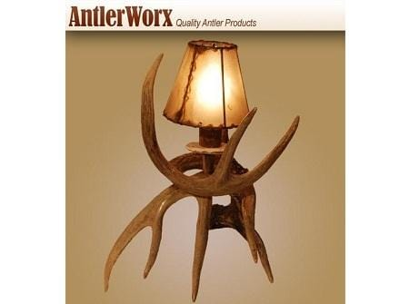 WHITETAIL ANTLER NIGHTLIGHT (L-10) - Antlerworx