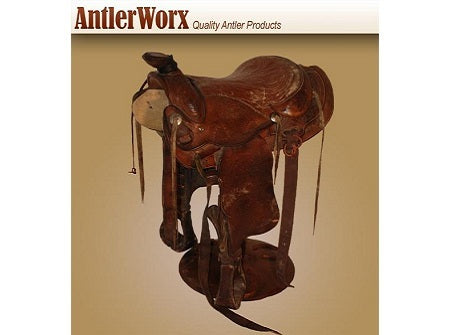Saddle Bar Stool (BS-4) - Antlerworx