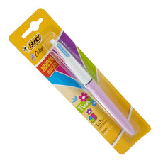 PLUMA FASHION 4 COLORES 1 PZ BIC