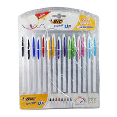 PLUMA BIC UP COLORES 15 PZ BIC
