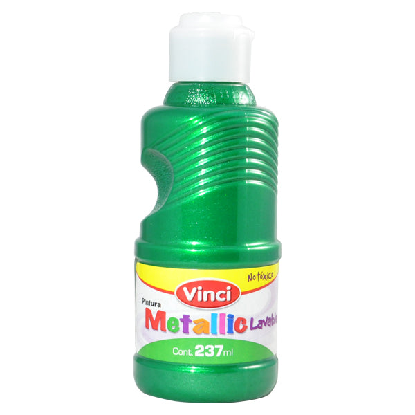 PINTURA DIGITAL METALICO VERDE 237 ML DIXON