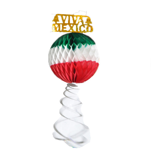 ADORNO PAPEL CHINA PELOTA TRICOLOR # 5 138  PATRIAS PLANNING
