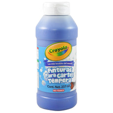TEMPERA AZUL 237 ML CRAYOLA MNK