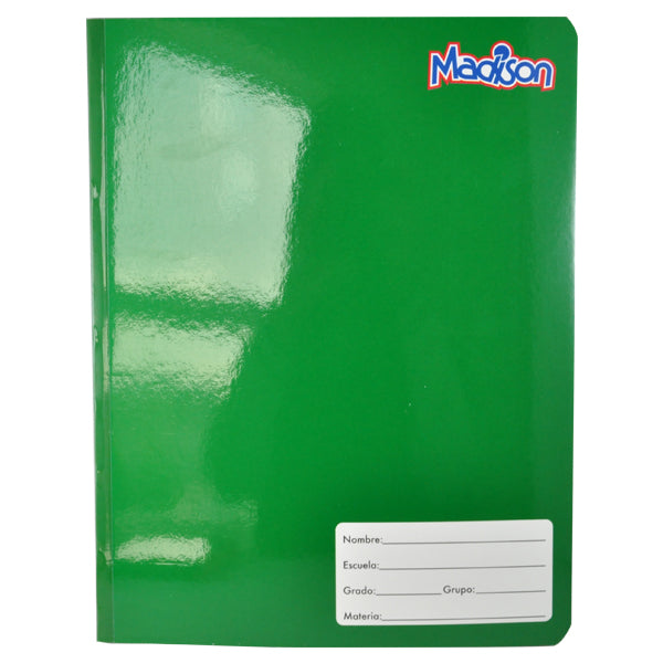 CUADERNO PROFESIONAL COSIDO MADISON 100 HJ C7 NORMA MNK