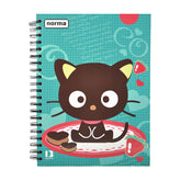 CUADERNO PROFESIONAL DOBLE ARGOLLA CHOCO CAT 160 HJ NORMA