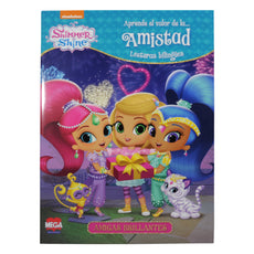 CUENTOS LECTURAS BILINGUES SHIMMER & SHINE 5186 LAROUSSE MNK