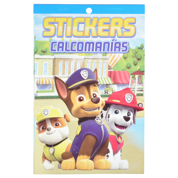 BLOCK CALCOMANIA PAW PATROL GRANMARK MNK