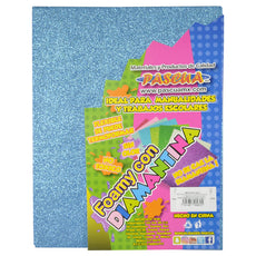 FOAMY CARTA DIAMANTINA 2 PZ AZUL CIELO MNK