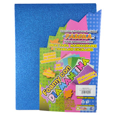 FOAMY CARTA DIAMANTINA 2 PZ AZUL REY MNK