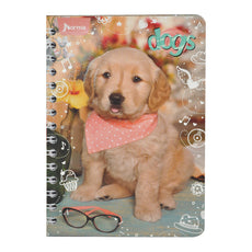 CUADERNO FRANCES DOBLE ARGOLLA DOGS 100 HJ C7 NORMA MNK