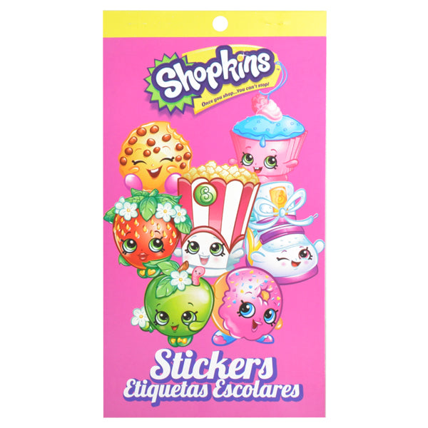BLOCK CALCOMANIA MATERIAS SHOPKINS GRANMARK MNK