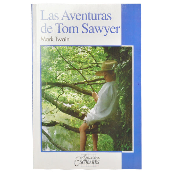 LIBRO AVENTURAS TOM SAWYER EDITORIAL PUEBLA