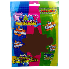 FOAMY MOLDEABLE 50 GM CHOCOLATE PASCUA