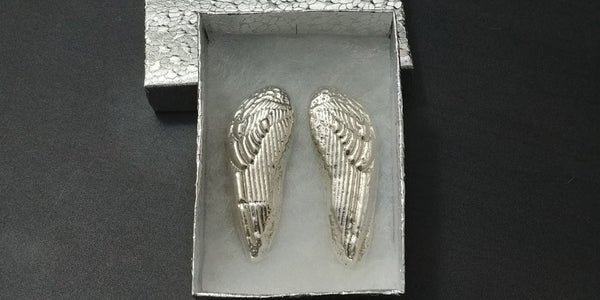 3 oz .999 Silver Angel Wing Set by Tomoko's Enterprize