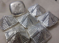 Tomoko's Enterprize 2.0 ozt Aztec Pyramid .999 Silver art bar
