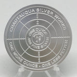 Cryptic Silver Series #7 - Cryptic Vision, BU Finish by Chautauqua Silver Works, 1oz .999 Silver Round