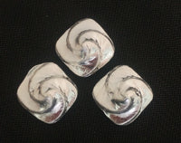 1.0 ozt .999 Silver Swirl Hand Poured in Canada by Tomoko's Enterprize