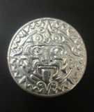 Tomoko's Enterprize 2.9 ozt .999 Aztec Shield Round