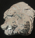 Chief with Wolf & Eagle .999 Silver Art Bar 2.6 ozt