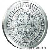 disOBEY Mini Mintage series #6, The Dalai Lama by Silver Shield - BU 1 oz .999 Silver Round
