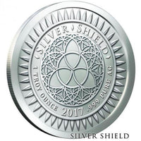 disOBEY Mini Mintage series #2, Gandhi by Silver Shield - BU 1 oz .999 Silver Round