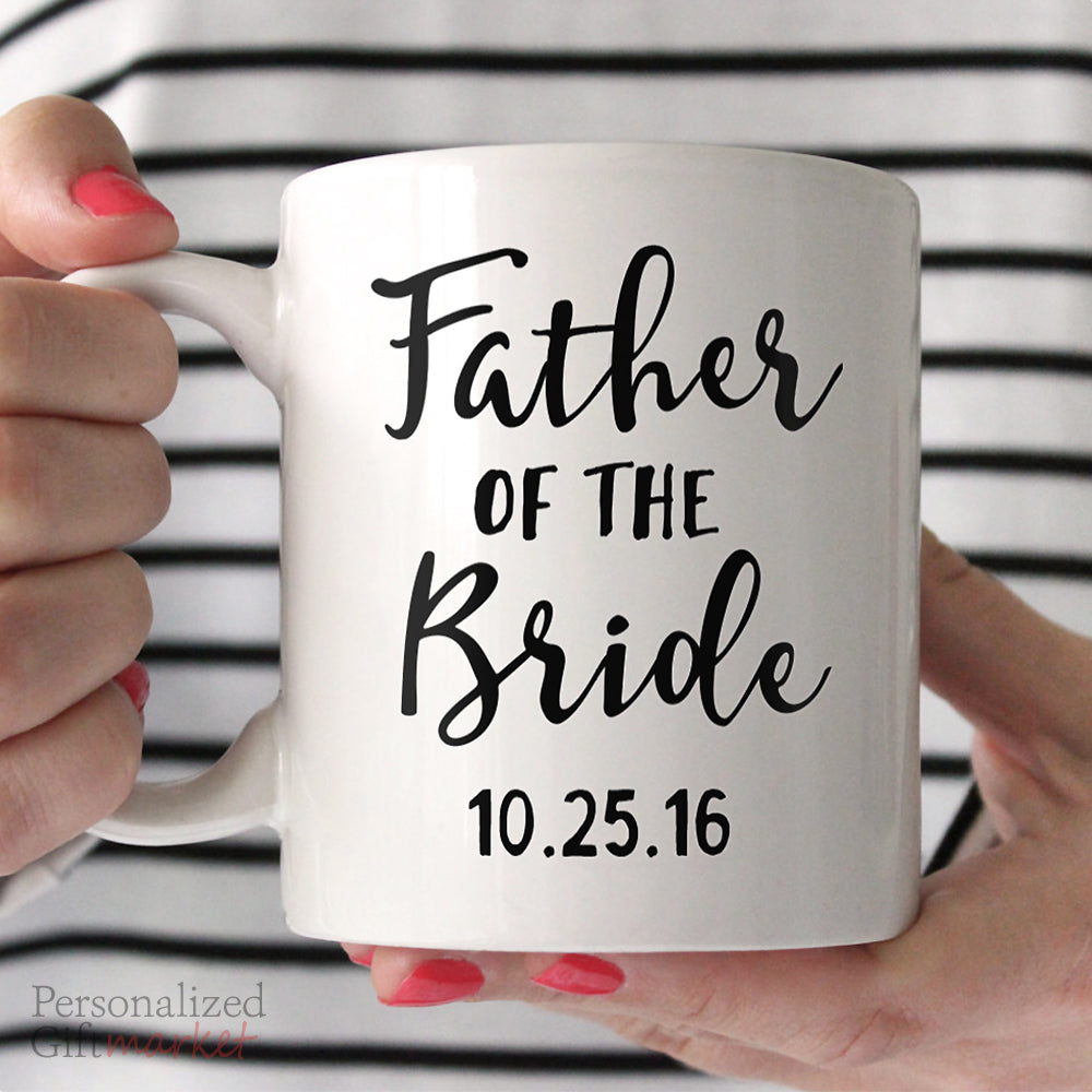 Gift for Father of the Bride Mug – Personalized Gift Market