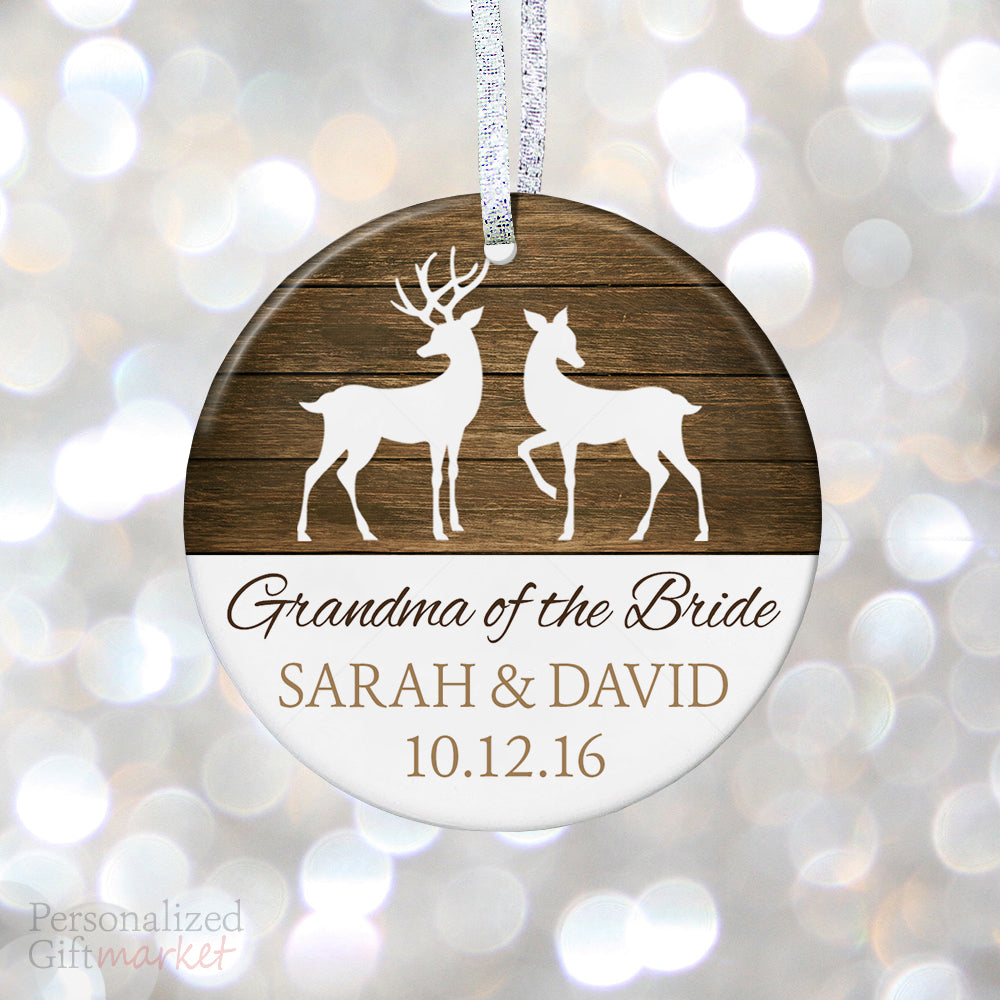 personalized grandma of the bride gift personalized gift market