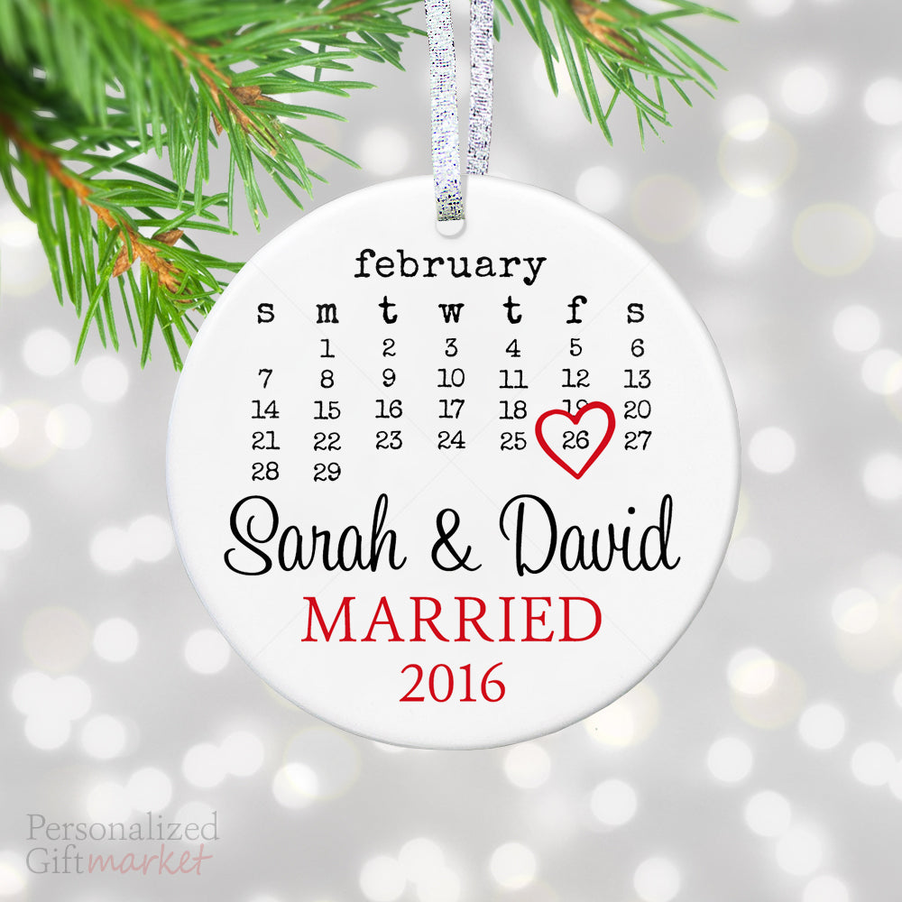 Just Married Personalized Wedding Gift – Personalized Gift Market