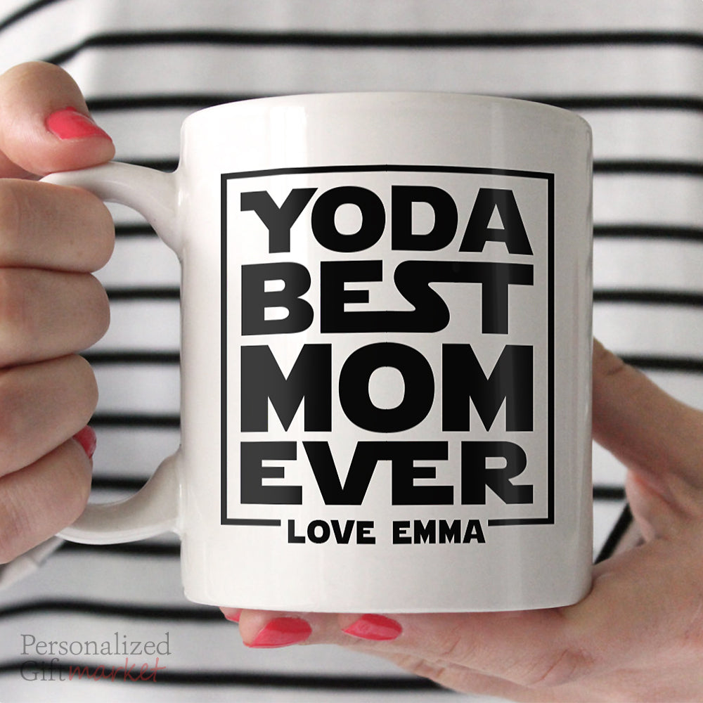 Yoda Best Mothers Day Gift For Mom Birthday Coffee Mug