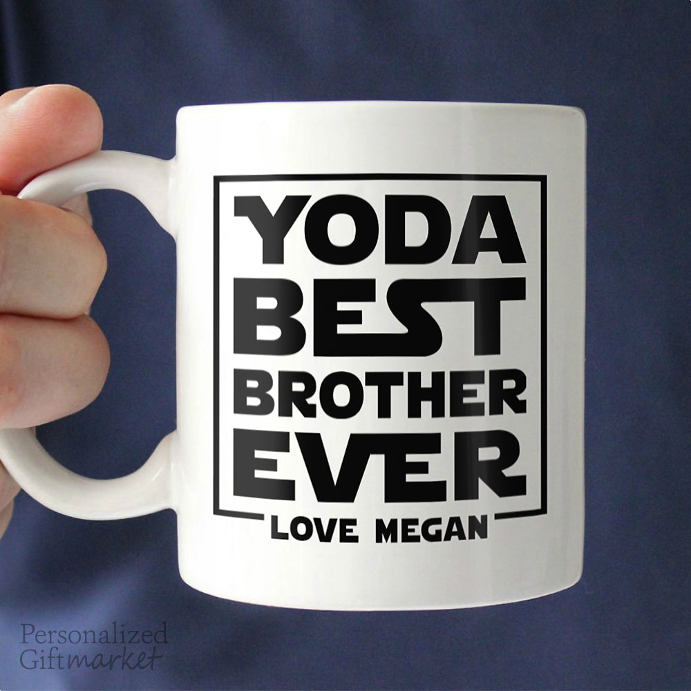 Best Brother Gift From Sister Personalized Gift Market