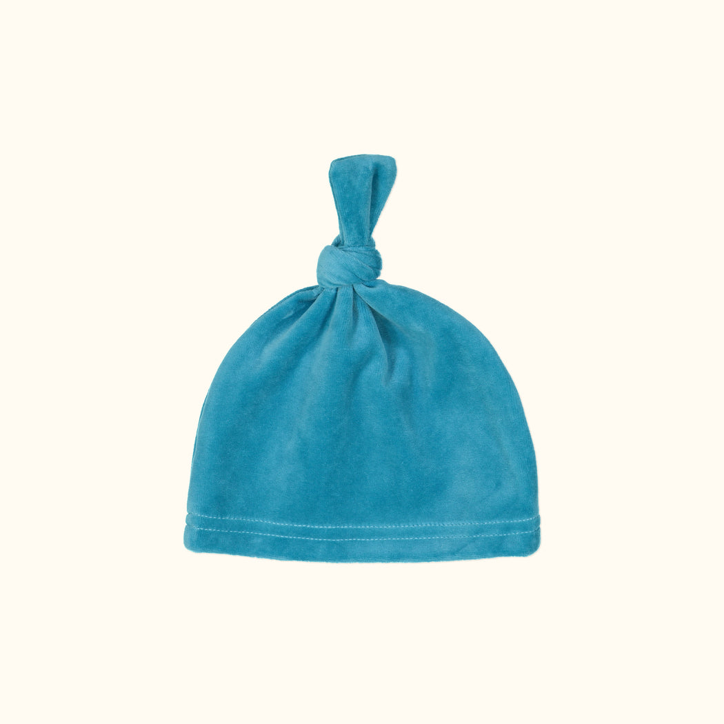 Teal Knot Hat