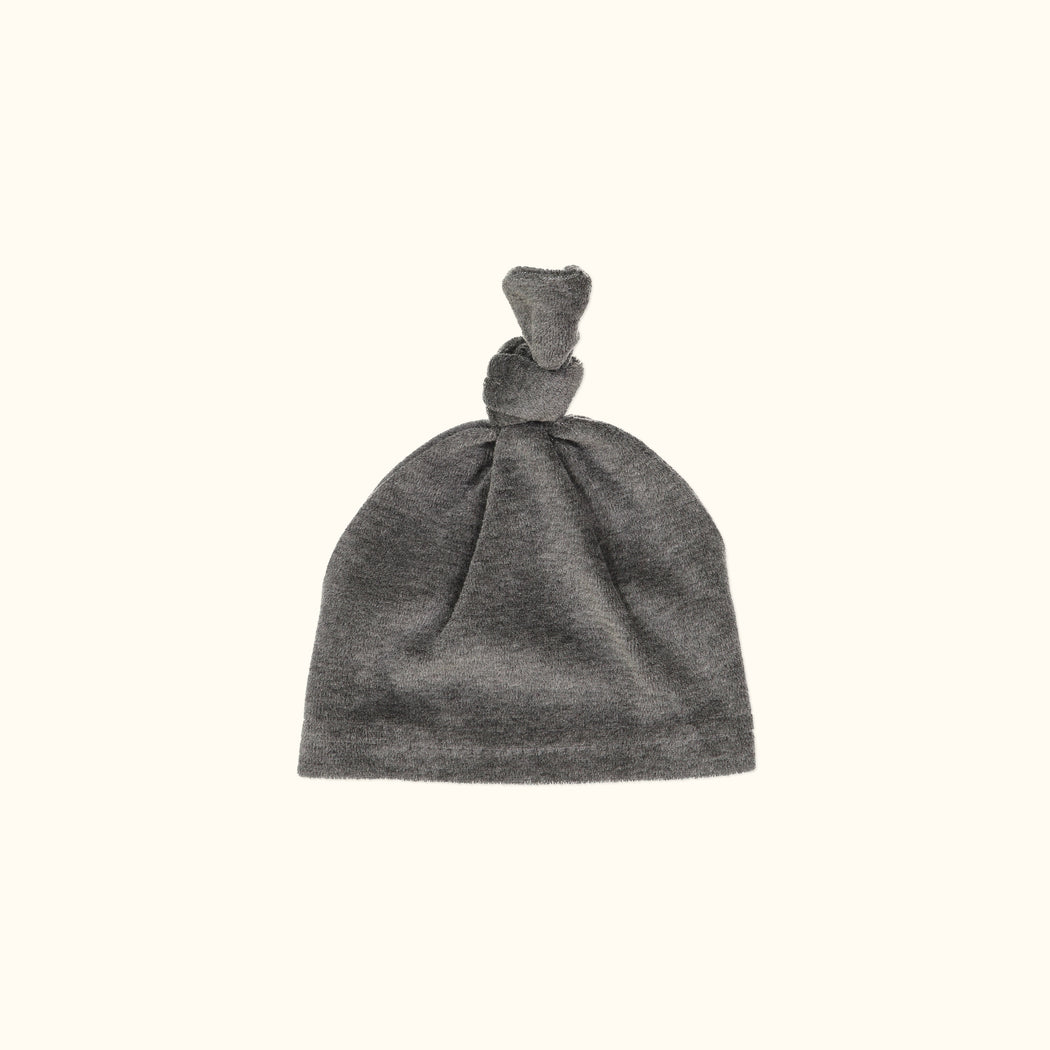 Charcoal Knot Hat