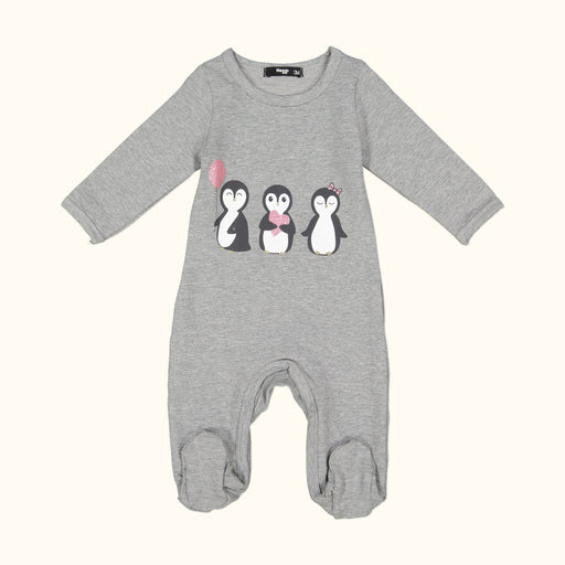 Girls Moodie Penguine Footie
