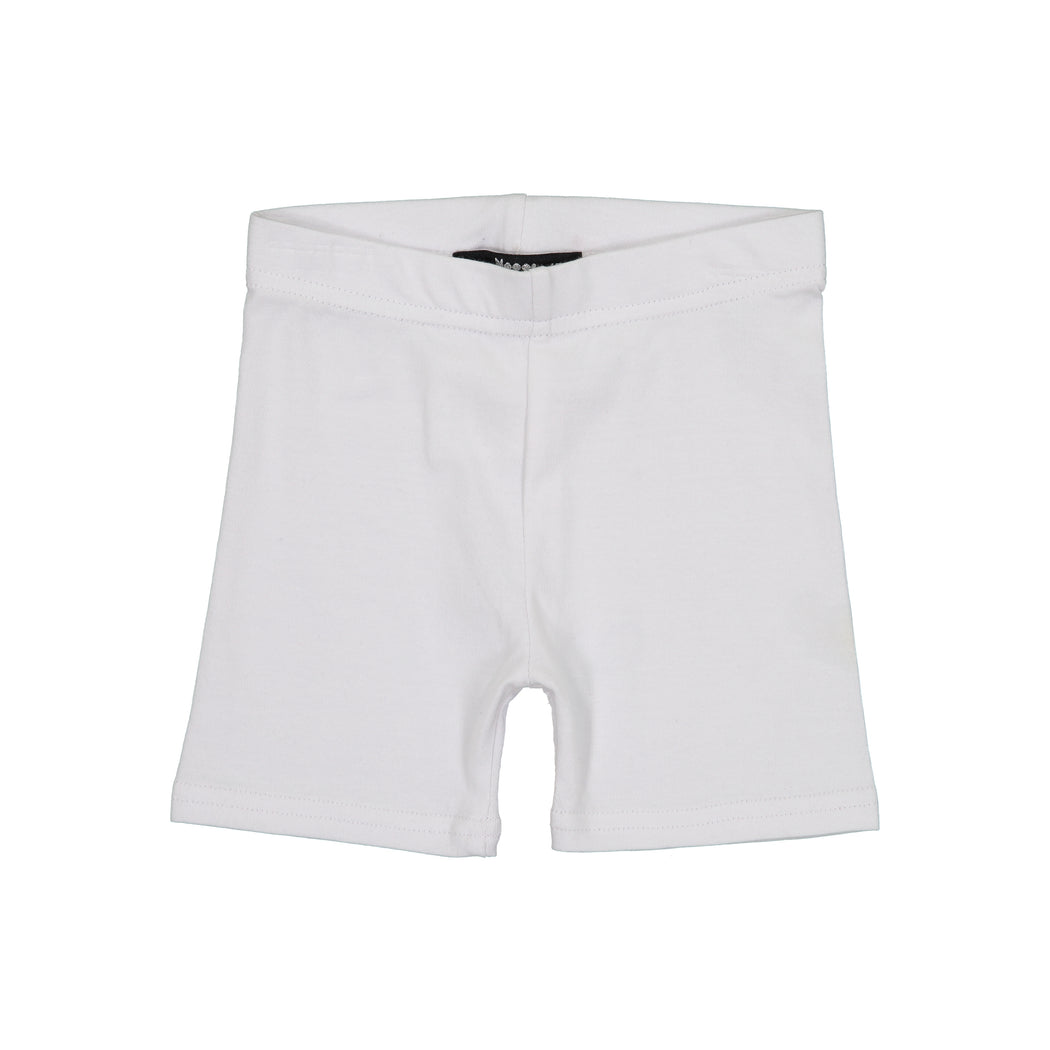 White Basic Shorties