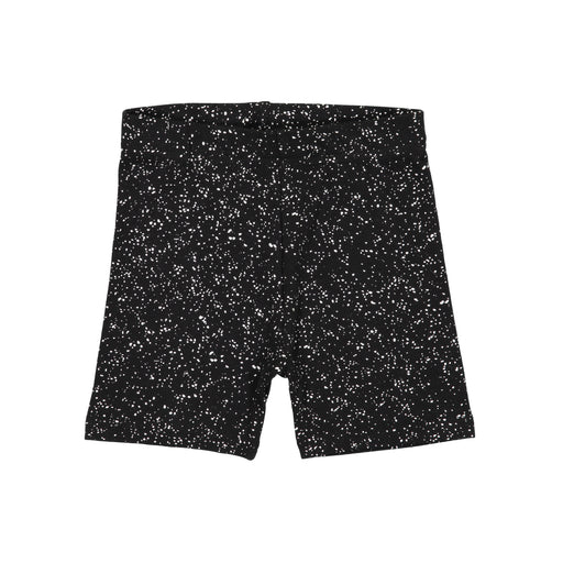 Black Metallic Speckle Shorties