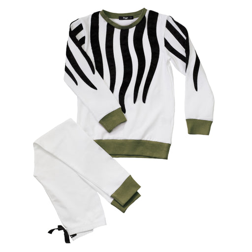Boys Zebra Loungewear Set