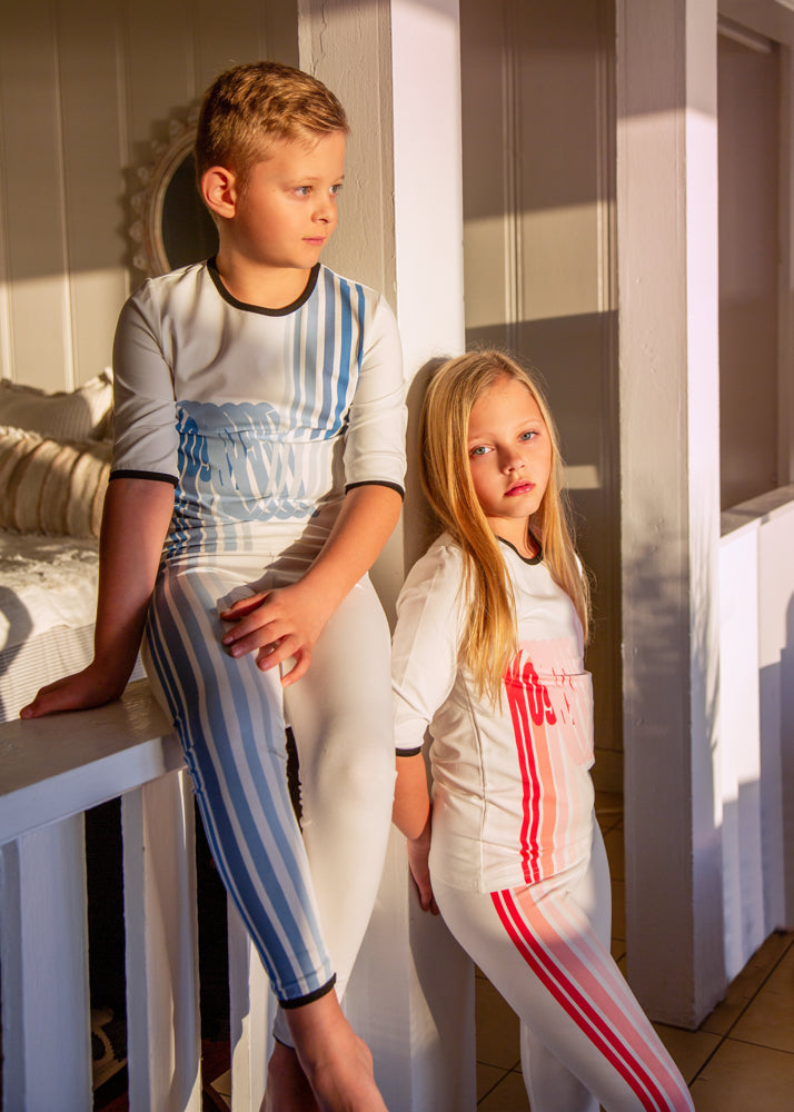 Noggi Wave Loungewear Set, Girls