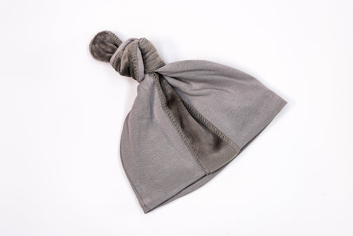 Gray Knot Hat