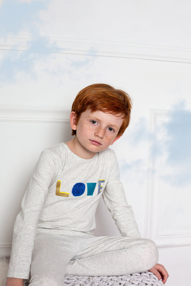 Boys Love Loungewear Set