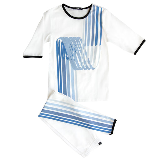 Noggi Wave Loungewear Set, Boys