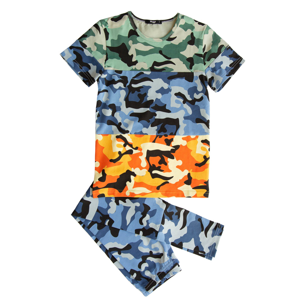 Camo Color Block Collection, Boys