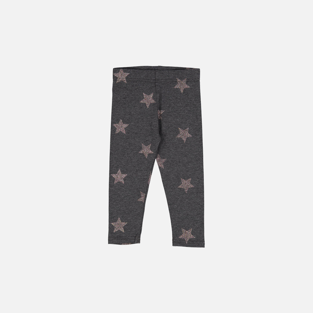 Charcoal Illuminating Stars Leggings