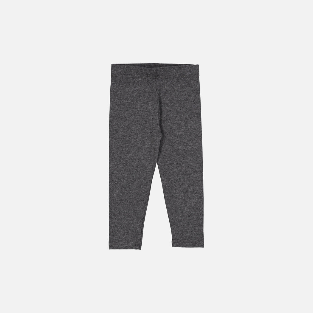 Charcoal Basic Leggings