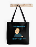 Bobby Hill This Is My Purse King Of The Hill Tote Bag - Killed Fitty Men