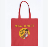 Mega Lo Mart Cotton King Of The Hill Tote Bag - Killed Fitty Men