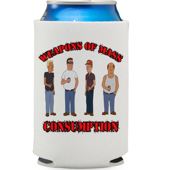 Weapons Of Mass Consumption King Of The Hill Can Cooler - Killed Fitty Men